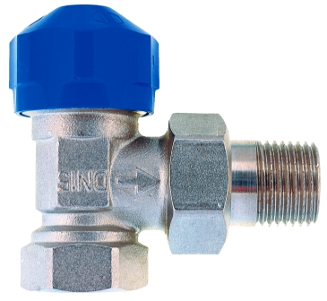 "Conecterm termostatický ventil M30x1,5 s přednastavením 3/8"""
