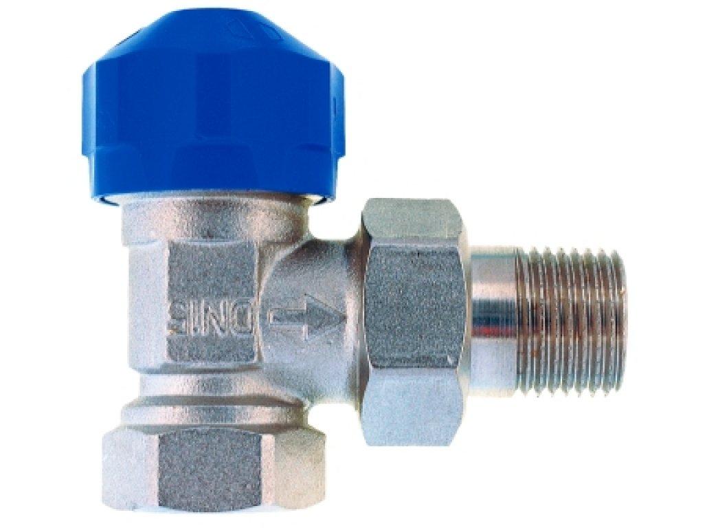 """Conecterm termostatický ventil M30x1,5 s přednastavením 3/8"""" rohový TV-38R"""