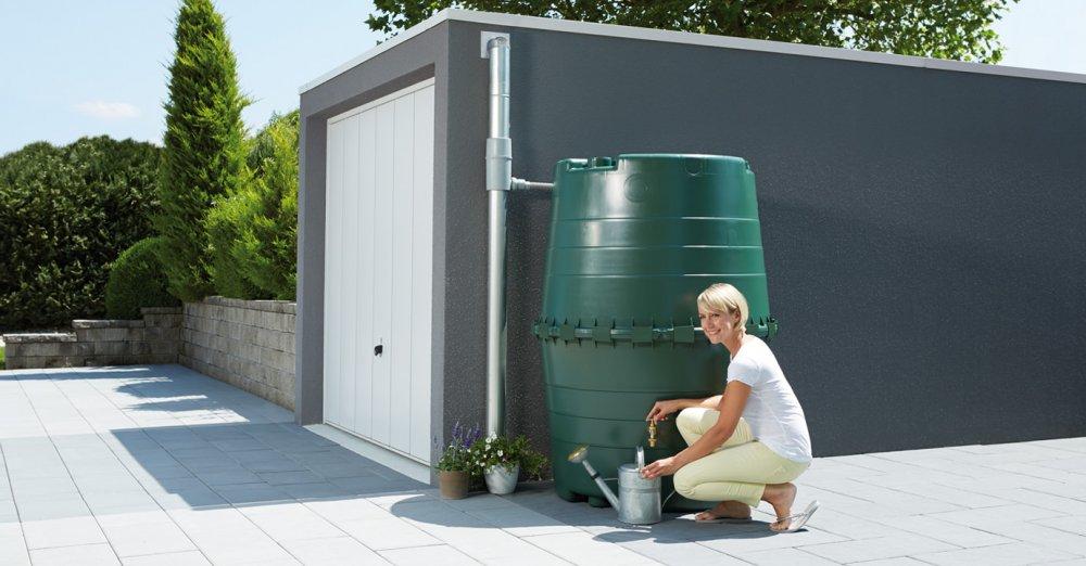 GRAF top nádrž 1300 l - tmavě zelená 323001