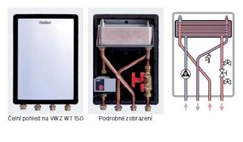 Vaillant oddělovací výměník MWT 150