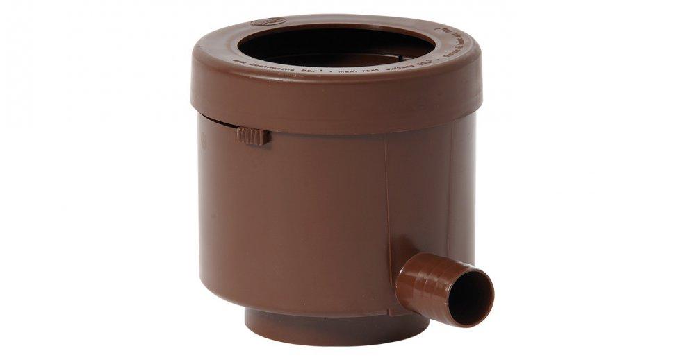 GRAF sběrač dešťové vody de luxe s filtrem - hnědý 503014