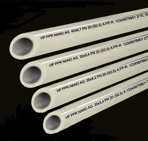 PPR trubky antibakteriální